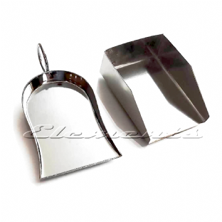 Diamond Gemstone Beads Shovel Scoop